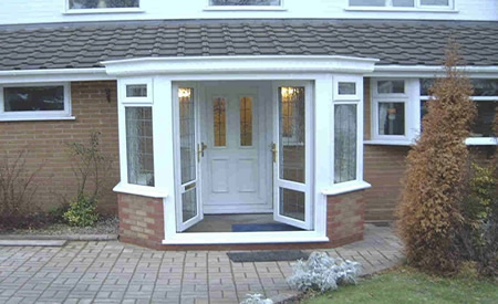 Conservatory quotes porch quotes for Double glazed porches